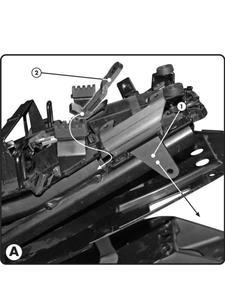Kit montażowy do kufrów bocznych do FZ1 1000 (06 > 12) - 2832670381