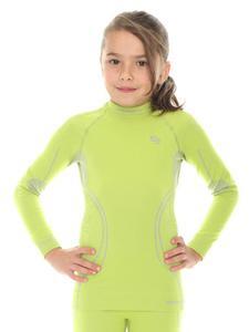 Bluza dziewczęca THERMO BRUBECK - LIMONKA - 2858362884
