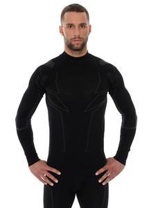 Bluza unisex BRUBECK MOTORCYCLE COOLER z długim rękawem - czarny - 2832673024