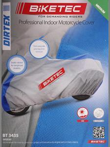 Pokrowiec do garażu BIKETEC DIRTEX POKROWIEC NA MOTOCYKL - 2832675125