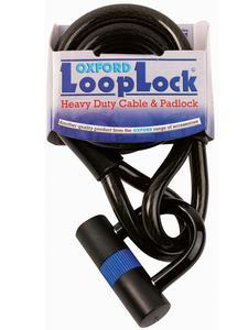 Linka OXFORD Loop Lock z wzmocnionej stali z kłódką długość 1.8mm x 15mm - 2832675302