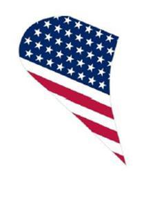 Naklejki na bok z flagą Schuberth Metropolitan M1 - Usa - 2832675944