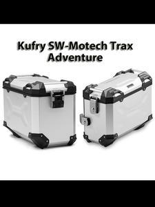 Zestaw 2-óch kufrów bocznych TRAX ADV SW-MOTECH [na prawą stronę - 37l & lewą stronę - 45l] - ALK.00.733.10000L/S, ALK.00.733.11000R/S - 2832676049