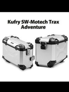 Zestaw 2-óch kufrów bocznych TRAX ADVENTURE SW-MOTECH [na prawą stronę - 45l & lewą stronę - 37l] - ALK.00.733.11000L/S, ALK.00.733.10000R/S - 2832676051