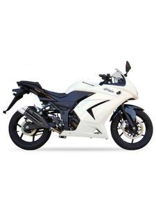 Tłumik motocyklowy IXIL DUAL HYPERLOW XL BLACK L3XB Kawasaki NINJA 250R [08-12](EK250K) - 2832676347
