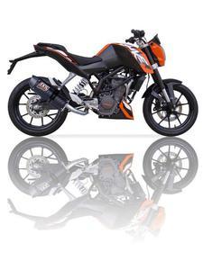 Tłumik motocyklowy IXIL HEXOVAL XTREM CARBONO COV KTM DUKE 125/ 200 [11-15] - 2832676434