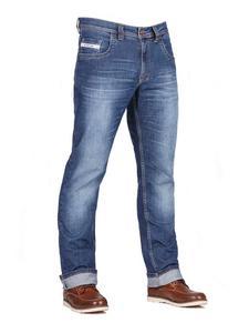 Jeansowe spodnie motocyklowe FREESTAR CAFE RACER II - 2832676878