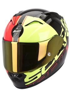 Kask Scorpion EXO-1200 AIR QUARTERBACK - Black fluo - 2832679474