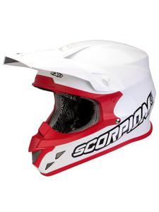 Kask Scorpion VX-20 Air Solid - White/red - 2832679514