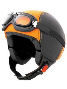 Kask CABERG Century black-orange leather - 2832679565