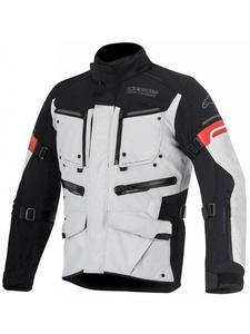 Motocyklowa Kurtka tekstylna Alpinestars Valparaiso 2 - szary/czarny/czerwony - 2832679884
