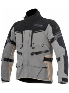 Motocyklowa Kurtka tekstylna Alpinestars Valparaiso 2 - ciemny szary/brązowy - 2832679887