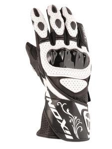 Damskie motocyklowe rękawice skórzane IXON RS CHICANE HP - 1015 - 2832680715