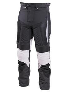 Tekstylne spodnie motocyklowe SECA HYBRID II - Gray - 2832681362
