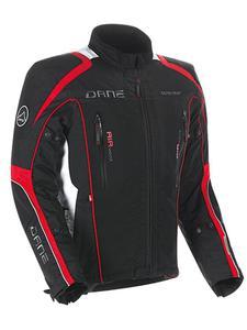 Kurtka tekstylna DANE Fureso GORE-TEX - Black/red - 2832681874