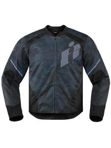 Motocyklowa kurtka tekstylna Overlord Primary Icon - black - 2832682968