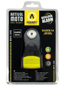Blokada na tarczę z alarmem AUVREY B-Lock 14 - 2835559838