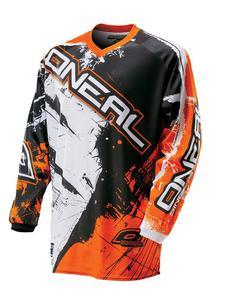 Dziecięca Bluza O'neal Element Shocker pomarańczowa - Black/Orange - 2836029995