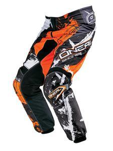 Dziecięce spodnie na enduro O'neal Shocker - Black/Orange - 2836030008