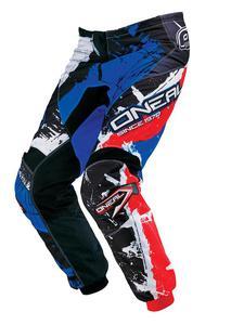 Dziecięce spodnie na enduro O'neal Shocker - Black/Red/Blue - 2836030009