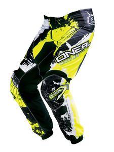 Dziecięce spodnie na enduro O'neal Shocker - black/Hi-Vis - 2836030010