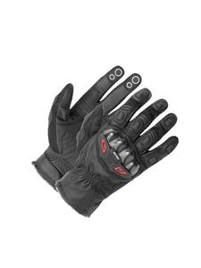 Motocyklowe rękawice skórzane Büse Airway - czarny - 2843354321