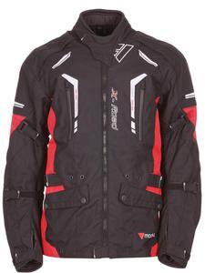 Kurtka tekstylna Modeka X-ROAD - czarny/czerwony - 2844265235