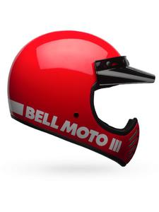 Kask integralny BELL MOTO-3 CLASSIC - red - 2844647594