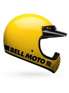 Kask integralny BELL MOTO-3 CLASSIC - Yellow - 2844647599