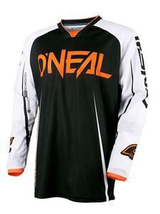 Bluza motocross O'neal Mayhem LITE BLOCKER - BLACK/WHITE/ORANGE - 2845171164