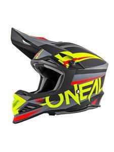 Kask motocross O'neal Seria 8 AGGRESSOR - Black/Hi-Viz - 2845171206