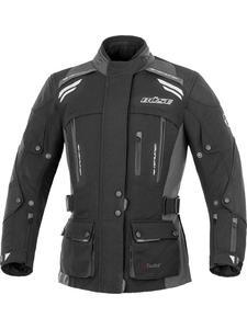 Damska motocyklowa kurtka tekstylna Büse Highland - czarno-szary - 2845587223