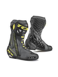 Sportowe buty motocyklowe TCX RT-RACE - BLACK/FLUO YELLOW - 2845587250