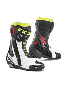 Sportowe buty motocyklowe TCX RT-RACE - White/Red/Fluo Yellow - 2845587251