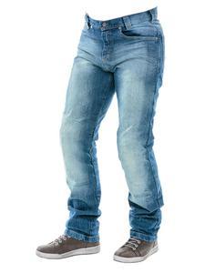 Męskie jeansy motocyklowe City Nomad Jack Iron - 2845587257