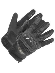 Motocyklowe rękawice skórzane Büse Safe Ride - czarny - 2846435117