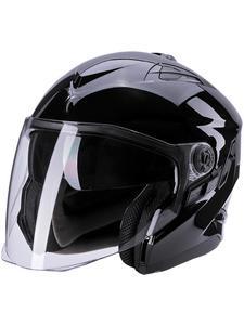 Otwarty kask motocyklowy SECA MIRAGE II - BLACK - 2846983362