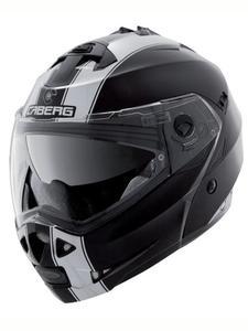 Szczękowy kask CABERG DUKE II LEGEND - Black/white - 2846983565