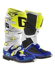 Buty Gaerne SG-12 - Buty Gaerne SG-12 WHITE/BLUE/YELLOW FLUO - 2847208838