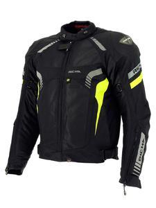 Tekstylna kurtka motocyklowa RICHA AIRFORCE - BLACK/FLUO YELLOW - 2847208855