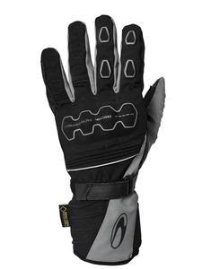 Turystyczne rękawice motocyklowe RICHA SONAR GTX - Black/Grey - 2847208915