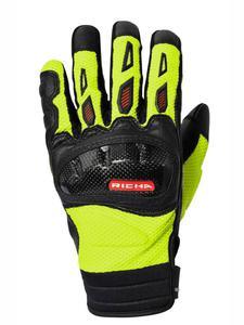 Turystyczne rękawice motocyklowe RICHA TORSION - fluo yellow - 2847208938
