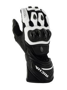 Sportowe rękawice motocyklowe RICHA WARRIOR EVO - White - 2847208963