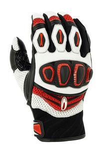 Rękawice motocyklowe RICHA TURBO - red - 2858362952