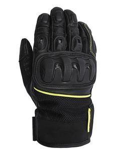 Motocyklowe rękawice skórzane ADRENALINE IMPACT - 2849531581