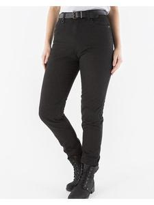 Damskie spodnie jeans na motocykl KNOX Knox Roseberry - [CZARNE] - black - 2850803874
