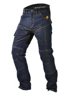 Jeansowe spodnie motocyklowe TRILOBITE Probut X-Factor - 2852658288