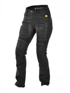 Damskie jeansowe spodnie motocyklowe TRILOBITE Parado Black - black - 2852658291