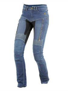 Damskie jeansowe spodnie motocyklowe TRILOBITE Parado 661 Blue - Blue - 2852658292
