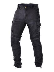 Jeansowe spodnie motocyklowe TRILOBITE Acid Scrambler - 2852788358